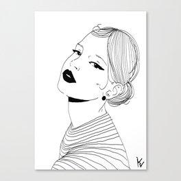 Woman #5 Canvas Print
