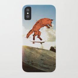 Skateboard FOX! iPhone Case