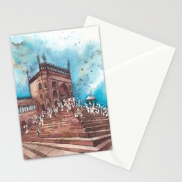 Jama Mosque, Old Delhi Stationery Cards