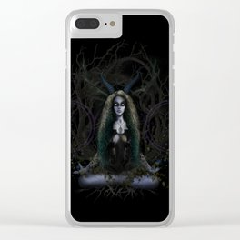 Earth Witch - Elements Collection Clear iPhone Case