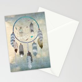 Awakening, a dreamcatcher Stationery Cards