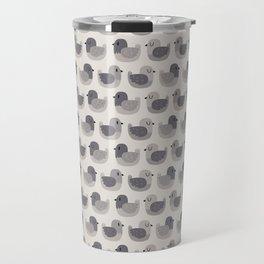 Cute Simple Pigeons Travel Mug