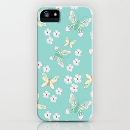 Petite Butterflies iPhone Case
