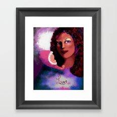 Love 2 Framed Art Print