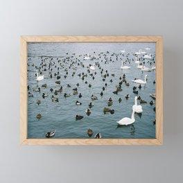 Crowded places Framed Mini Art Print