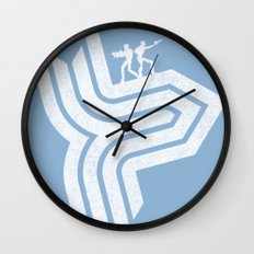 Rolling Thunder Wall Clock