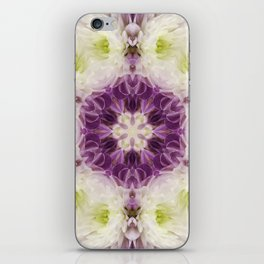 Chrysanthemum Kaleidoscope iPhone Skin