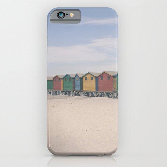 Beach Huts iPhone & iPod Case
