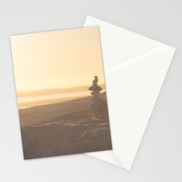 Peach landscape Stationery Cards