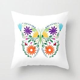 Mariposa Throw Pillow