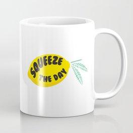 Squeeze The Day Lemon Coffee Mug