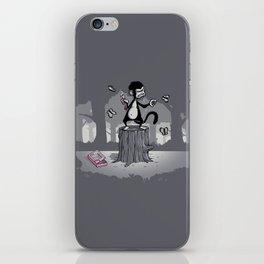 Grandoise delusions iPhone Skin
