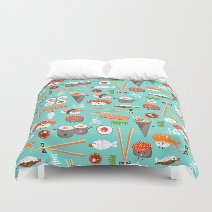 Happy Sushi Bettbezug