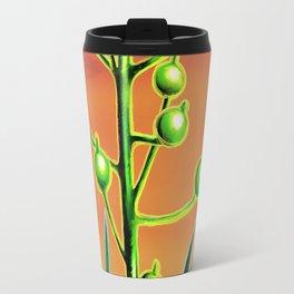 Wild plant at sunset Travel Mug