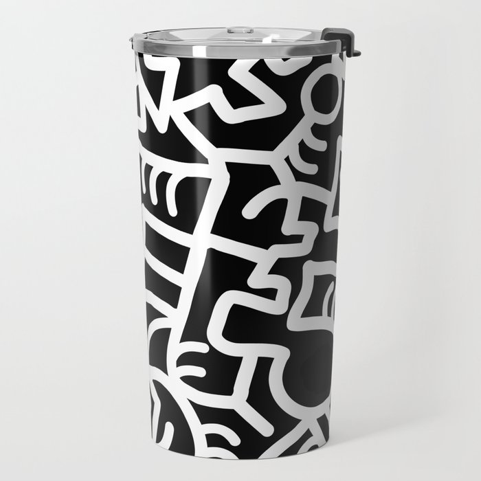 Dazed and Confused at Night Travel Mug