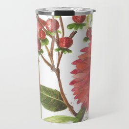 Bodega Berry Floral Travel Mug