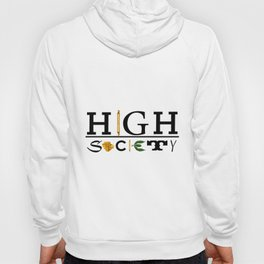 High Society Logo2 Hoody