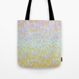 rainbow animal print Tote Bag