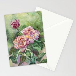 Grandma's Roses Stationery Cards