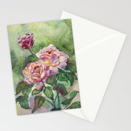Grandma's Roses Stationery Cards