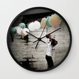 For a moment I remembered. Wall Clock