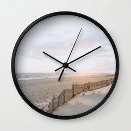 Long Island Beaches Wall Clock