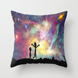 I bet you could sometimes find all the mysteries of the universe in someone's hand Throw Pillow