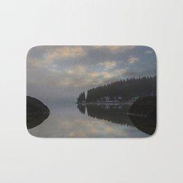 Black Forest Reflections - Landscape Photography Bath Mat