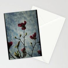 Magnolia Red Stationery Cards