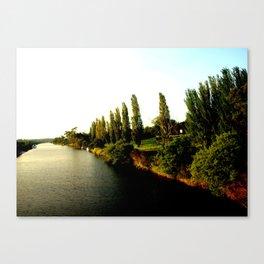 Thompson River @ Twilight Canvas Print