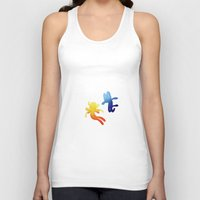 gumball Tank Tops featuring True Love - Penny x Gumball by sandwichia