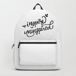 Inspire the Uninspired Backpack