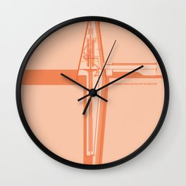 Swedish Vacuum Solar Telescope Wall Clock