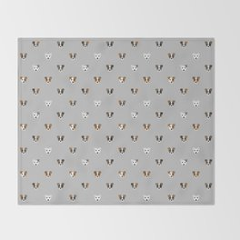 Jack Russell puppies Throw Blanket