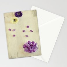 Violet sweets Stationery Cards