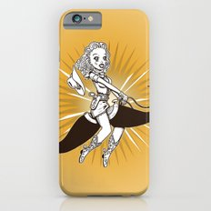 Cow girl Mustache Ride by RonkyTonk Slim Case iPhone 6s