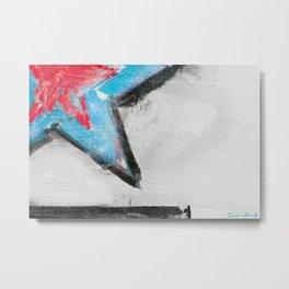 Meditation No.5 (chalk cosmos) Metal Print