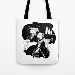 M. Leblanc et Mlle. Lanoire Tote Bag