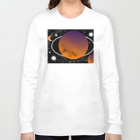 planets Long Sleeve T-shirts featuring planets by lescapricesdefilles