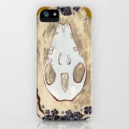 Cycle (Hedgehogs & Flowers) iPhone Case