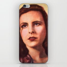Leni Riefenstahl portrait iPhone Skin