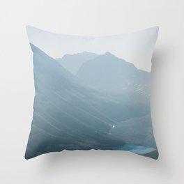 Consolation Lakes Throw Pillow