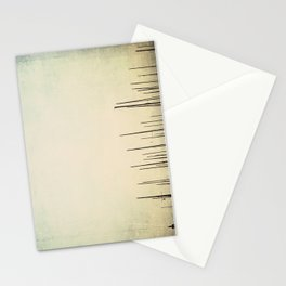 sailboat masts all in a row ... Stationery Cards