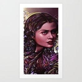 Wife of Jekyll & Hyde Art Print