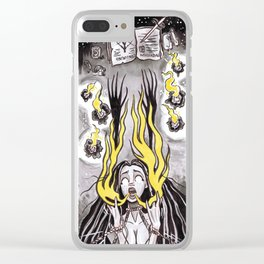 Conjuring Spell #8 Clear iPhone Case