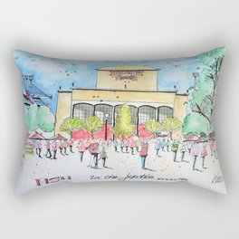 In the Junction Rectangular Pillow