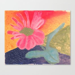 Mother's Day - Painting by young artist with Down syndrome Canvas Print