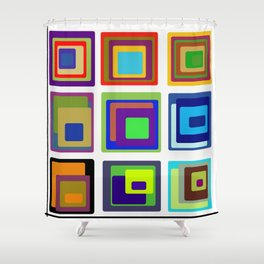 Creative Corner Shower Curtain