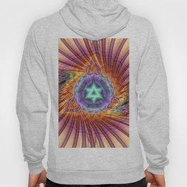 Alteuisha- Abstract Spiritual Fractal Art- Healing Art- Jewish Art- Merrkabbah Art Hoody