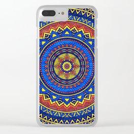 Hippie mandala 57 Clear iPhone Case